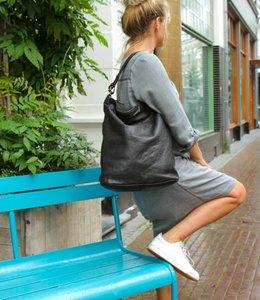 Bear Design Schoudertas 'Tess' XL - Zwart