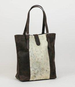 Bear Design Shopper 'Isabelle' Cow-collectie HH30673 Bruin