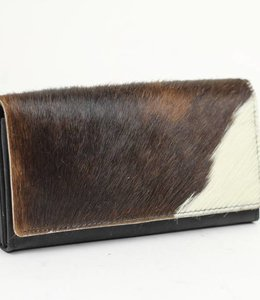 Bear Design Geldbörse Kuh HH9918 Schwarz
