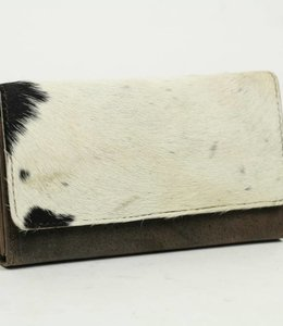 Bear Design Geldbörse Kuh HH9918 Braun