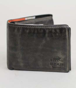 Bear Design Billfold Laag - CL7254 Grijs