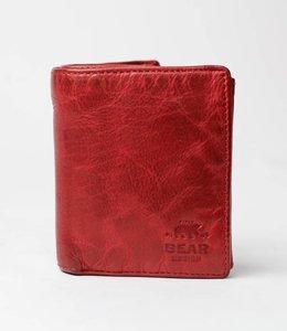 Bear Design Billfold Hoog - Rood CL7252