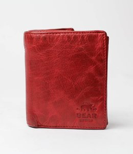 Bear Design Geldbörse / Brieftasche CL7252 Rot