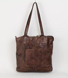 Bear Design Shopper Donkerbruin CL35010 - Sale