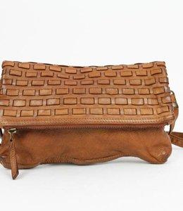 Bear Design Schultertasche Leida groß CL35492 Cognac