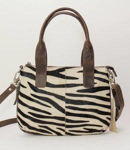Bear Design Hand-/Schultertasche Zebra - HH31301