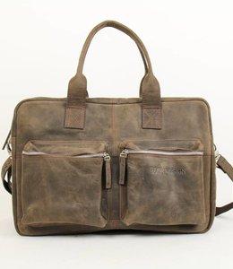 Bear Design Schulter-/Handtasche YN2005 Bruin
