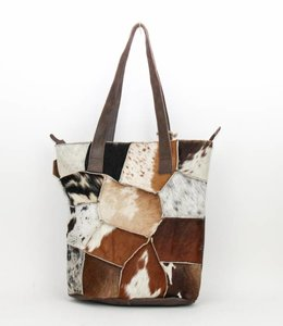Bear Design Shopper Cow BU2087 Braun