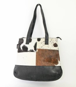 Bear Design Kleiner Shopper Cow Schwarz HH32510