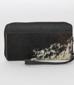 Bear Design Ritsportemonnee/Clutch Cow - Zwart HH9165