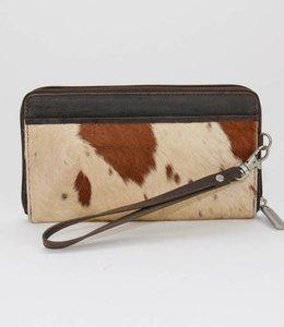 Bear Design Ritsportemonnee/Clutch Cow - Bruin HH9165