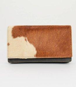 Bear Design Geldbörse Cow Braun HH782