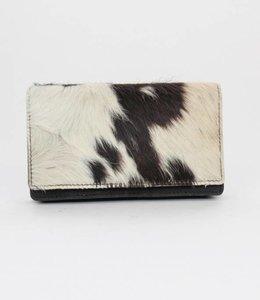 Bear Design Geldbörse Cow Schwarz HH782