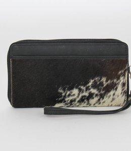 Bear Design Ritsportemonnee/Clutch Cow - Zwart HH9165-1
