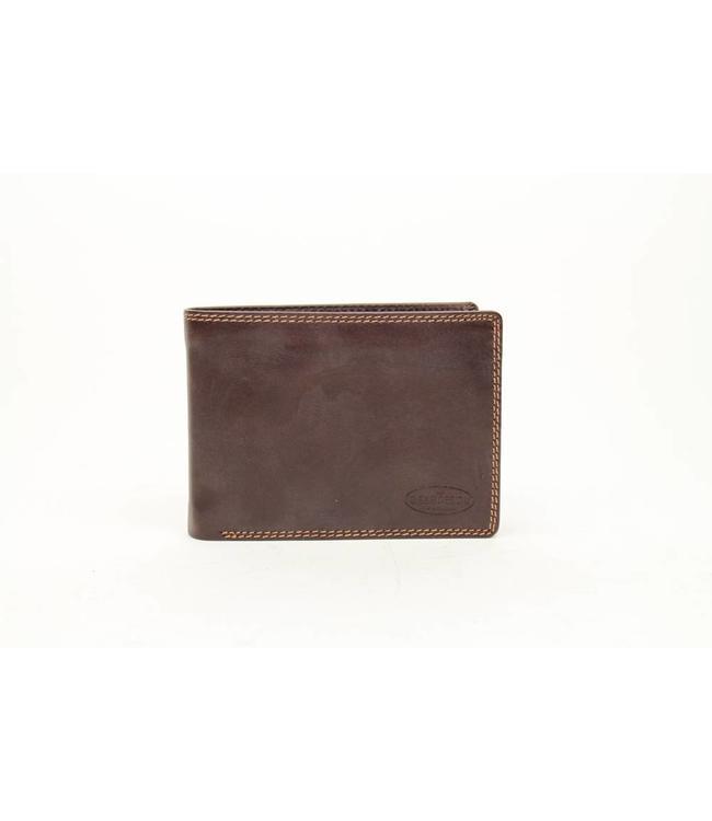 Bear Design Brieftasche Braun M7254