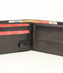 Bear Design Brieftasche M9596 Schwarz
