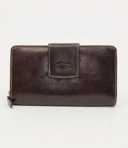 Bear Design Große Geldbörse RO2881 Braun