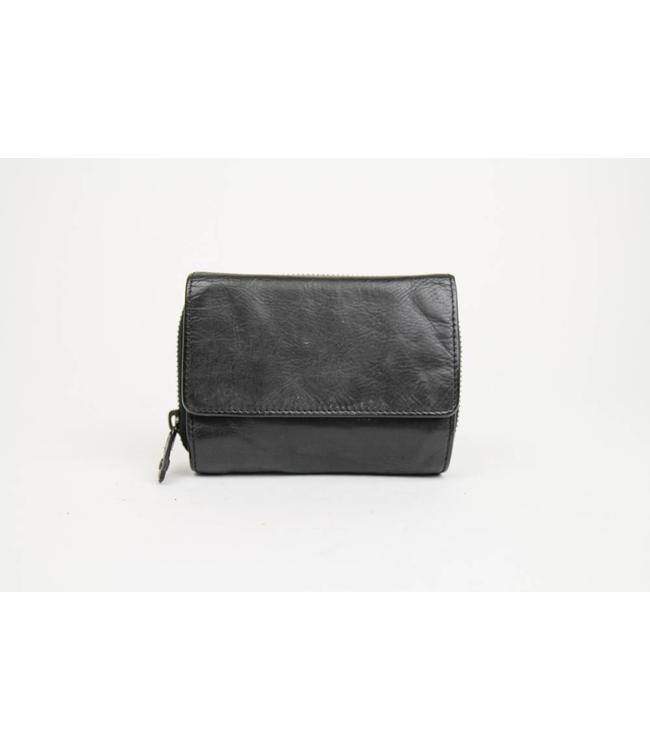 Bear Design Rits portemonnee CL14891 Zwart