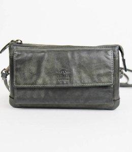 Bear Design Portemonnaie- Tasche Cecile CL14896 Grau