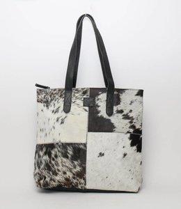 Bear Design Cow Shopper 'Linda' Groot Zwart HH32637