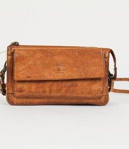 Bear Design Portemonnaie- Tasche Cecile CL14896 Cognac