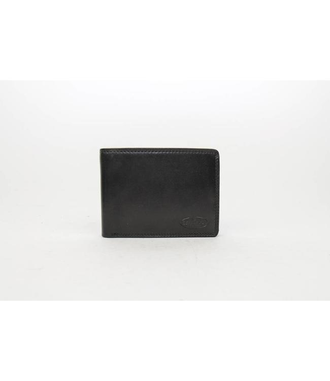 Bear Design Brieftasche Schwarz M7254