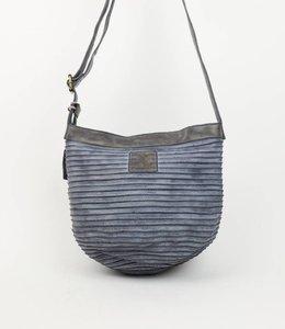 Bear Design Schulter-/Beuteltasche GR6779 Grau/Blau