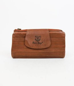 Bear Design Dames portemonnee Grizzly - Cognac 11220