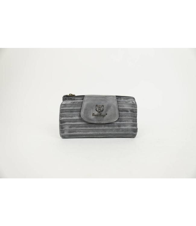 Bear Design Portemonnaie GR11220 Grau