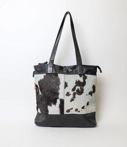 Bear Design Shopper Cow/Lavato CL35105 Zwart