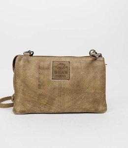 Bear Design Portemonnee tasje XL 'Uma' - Beige CP30996