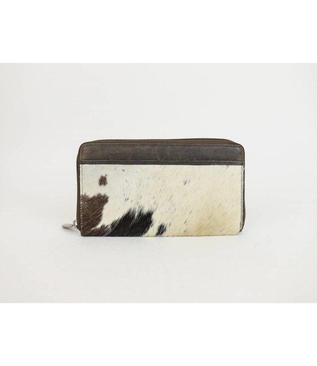 Bear Design Geldbörse / Clutch HH9165 Cow Schwarz