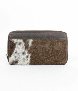 Bear Design Ritsportemonnee/Clutch Cow - Bruin HH9165-4