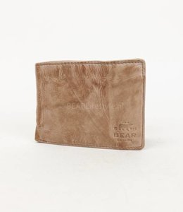 Bear Design Dunne billfold - CL14966 Hazelnut