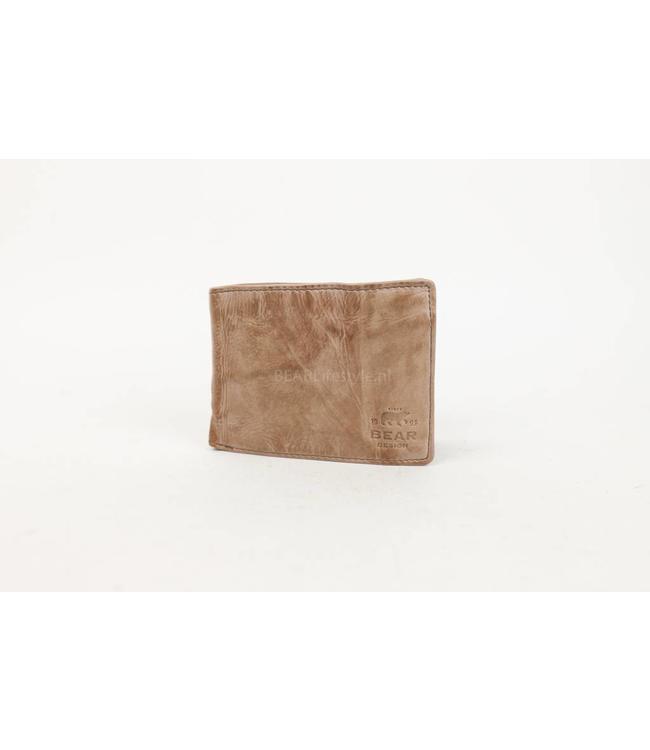 Bear Design Brieftasche CL14966 Hazelnut