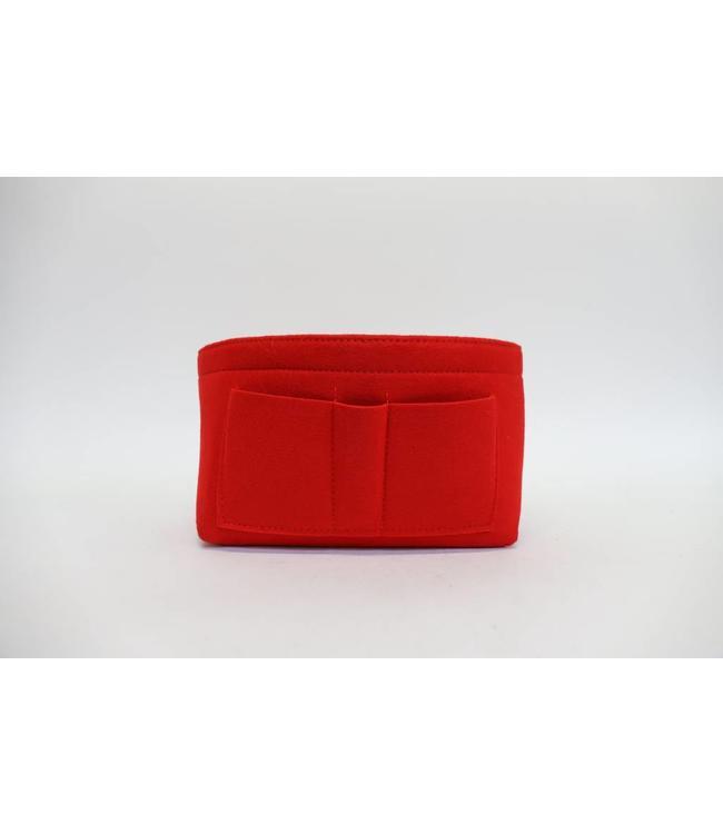 Taschen Organizer Rot
