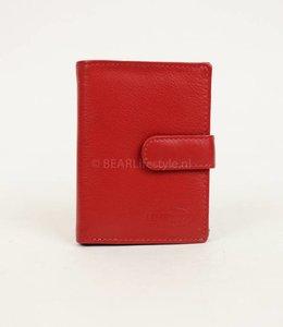 Bear Design Kartenhalter/Portemonnaie FR527 Rot