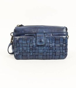 Bear Design Clutch / Umhängetasche CL32663 Blau