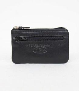 Bear Design Dun sleuteletui - Zwart RO7847