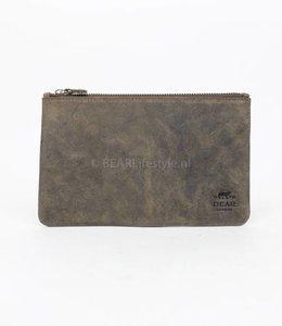 Bear Design Etui/Makeup tasje Leer XL - HD13130