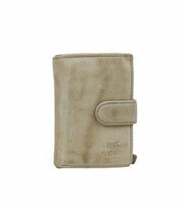 Bear Design Reisepass / Geldbörse CL527 Elephant Grey