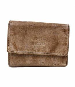 Bear Design Kleines Portemonnaie CL14618 Hazelnut