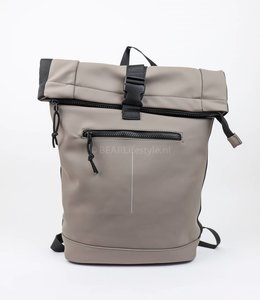 New Rebels Wasserdichter Rucksack 'Mart' Taupe