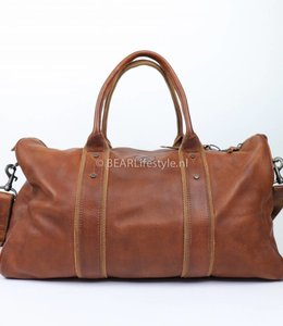 Bear Design CP0296 Weekendtas 'Norton' Cognac