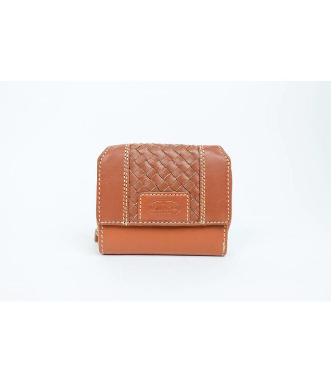 Bear Design Kleine portemonnee - MS9490 Cognac