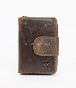 Bear Design Ritsportemonnee VG13550 Bruin