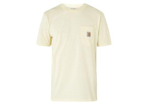 Lion T-shirt van katoen met borstzak