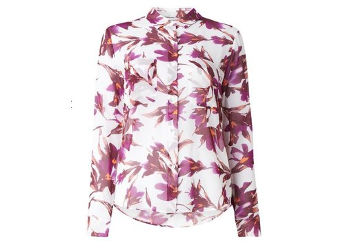 Molly blouse met bloemendessin