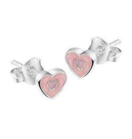 Kasius Zilveren oorknoppen - Emaille