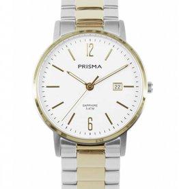 Prisma Prisma - Horloge - Slimline Steel Mr. Bicolor